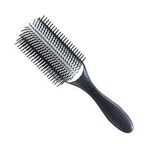 DENMAN D4N  9-Rows Texture Handle Styling Hair Brush
