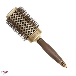 Olivia Garden NanoThermic Ceramic / Ionic Thermal Square Hair Brush 2""